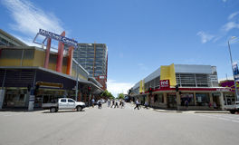 Straat in Darwin, Australië Stock Afbeelding