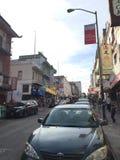 Straat in de stad van China Royalty-vrije Stock Foto