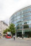 Straat in de Stad van Londen Royalty-vrije Stock Foto's