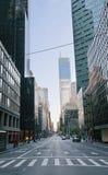 Straat in de Stad van New York Stock Fotografie