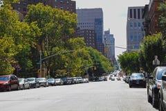 Straat in de Stad van New York Stock Foto's