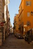 Straat door Colloseo Royalty-vrije Stock Afbeeldingen