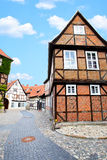 Straat in Duitsland Royalty-vrije Stock Fotografie