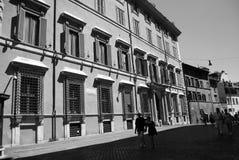 Straat Engels Rome Stock Fotografie