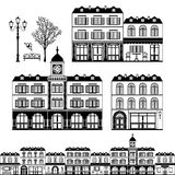 Straat in Europa Vector Illustratie