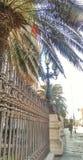 Straat in Europese stad Royalty-vrije Stock Afbeelding