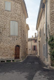 Straat in Frankrijk Royalty-vrije Stock Afbeelding