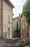 Straat in Frankrijk Royalty-vrije Stock Fotografie