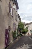 Straat in Frankrijk Stock Fotografie