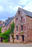 Straat in Frans Bretagne Royalty-vrije Stock Afbeelding