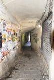 Straat in Genua Stock Afbeelding