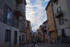 Straat in het Zuiden van Frankrijk Stock Fotografie