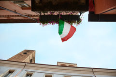 Straat in Italië Royalty-vrije Stock Afbeeldingen