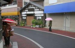 Straat in Japan Stock Afbeelding