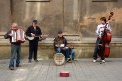 Straat Jazz Band Royalty-vrije Stock Fotografie