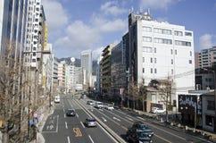 Straat in Kobe, Japan Stock Afbeeldingen