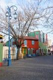 Straat in La Boca Royalty-vrije Stock Fotografie