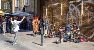 Straat in Londen Royalty-vrije Stock Foto's