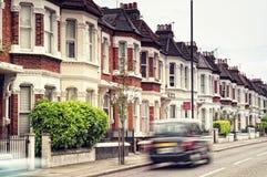 Straat in Londen royalty-vrije stock afbeeldingen