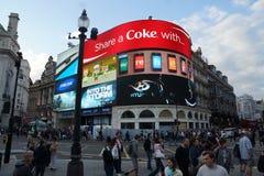 Straat in Londen Stock Afbeeldingen