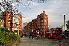 Straat in Londen Stock Afbeelding