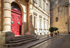 Straat in Malta Stock Afbeeldingen