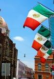 Straat in Mexico-City Royalty-vrije Stock Foto's