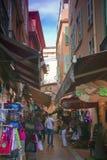 Straat in Monaco Royalty-vrije Stock Afbeelding