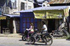 Straat in Myanmar Royalty-vrije Stock Fotografie