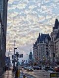 Straat in Ottawa Stock Foto's
