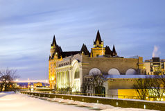 Straat Ottawa - Rideau royalty-vrije stock afbeeldingen