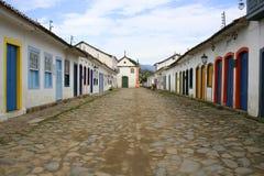 Straat in Parati royalty-vrije stock fotografie
