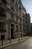 Straat in Parijs Royalty-vrije Stock Afbeeldingen