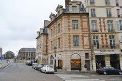 Straat in Parijs Royalty-vrije Stock Afbeelding