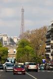 Straat in Parijs royalty-vrije stock fotografie