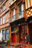 Straat in Rennes Stock Afbeeldingen