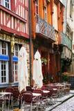 Straat in Rennes Royalty-vrije Stock Foto