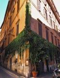 Straat in Rome, Italië Stock Afbeeldingen