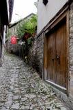 Straat in Safranbolu stock fotografie