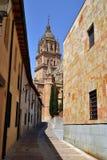 Straat in Salamanca Royalty-vrije Stock Foto's