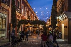 Straat, San Cristobal DE las Casas, Chiapas, Mexico royalty-vrije stock afbeeldingen