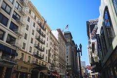 Straat in San Francisco Royalty-vrije Stock Afbeeldingen