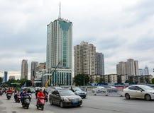 Straat in Shanghai, China Royalty-vrije Stock Afbeeldingen