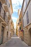 Straat in Spanje Stock Foto's