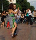 Straat-tango in Monza op 14 Mei, 2017 Royalty-vrije Stock Afbeelding