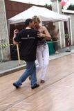 Straat-tango in Monza op 14 Mei, 2017 Stock Afbeeldingen