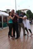 Straat-tango in Monza op 14 Mei, 2017 Royalty-vrije Stock Foto