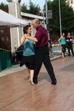 Straat-tango in Monza op 14 Mei, 2017 Royalty-vrije Stock Foto's