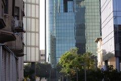 Straat in Tel Aviv Royalty-vrije Stock Afbeelding
