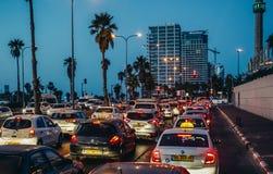 Straat in Tel Aviv Stock Foto